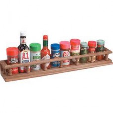 Teak Spice Rack 595mm